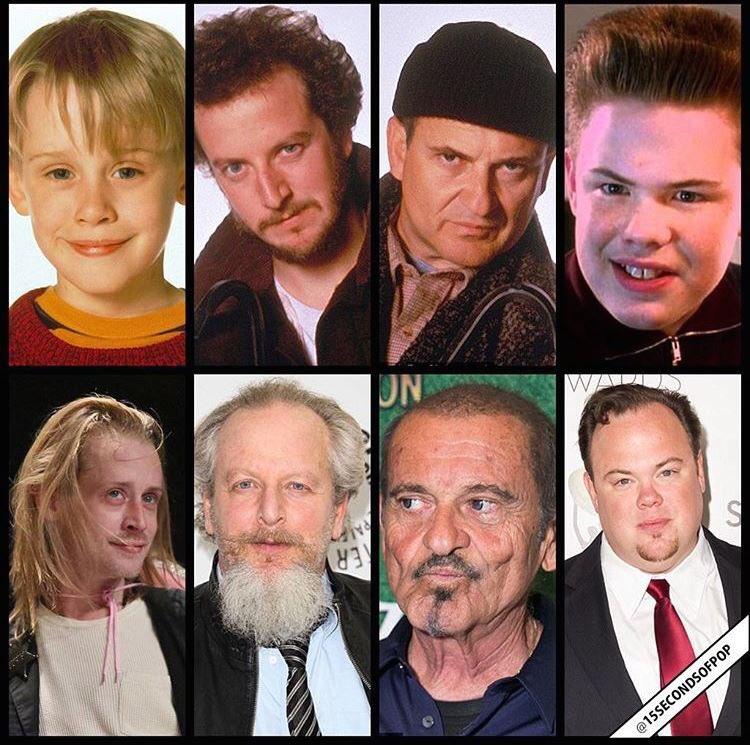 I Am An 80 S Kid On Twitter The Home Alone Cast Then Now Https