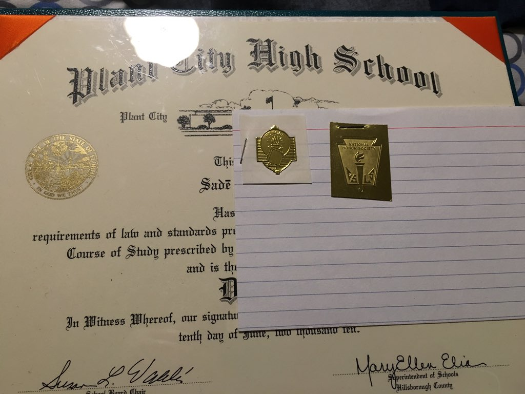 how do you put high school diploma on resume