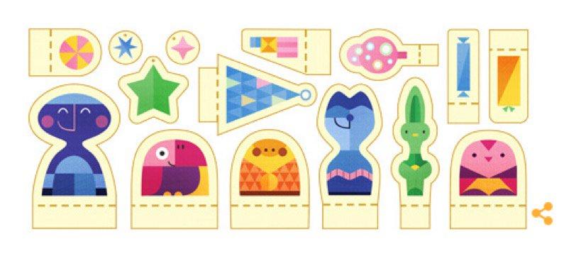 Buone Feste da Google Doodle e Notizie IN