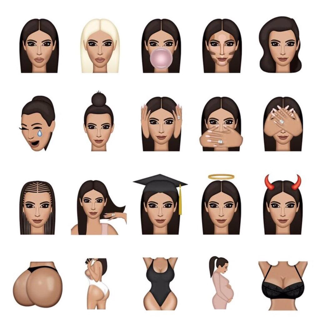 "Emoticone Kim Kardashian kim kardashian west on twitter: ""kimoji's https://t.co/1xp9lidahl"