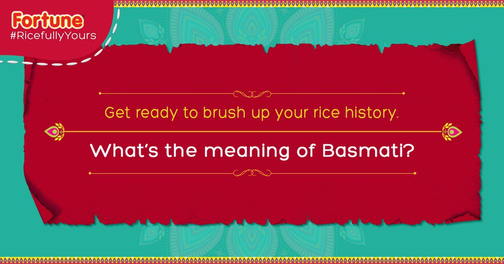 This simple qn had foxed me. Never thought about it. So, tweet your answers & tag @FortuneFoods. #RicefullyYours https://t.co/Et8NwGP7XV