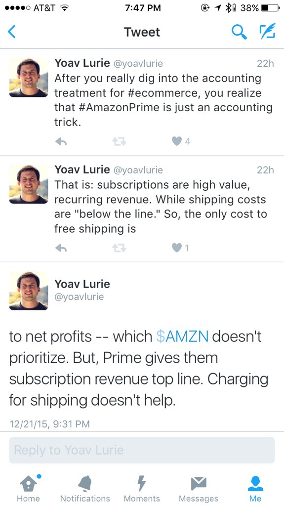 @DanielleMorrill @greggweiss I realized the other day that Amazon Prime is mostly an accounting trick. https://t.co/TjkKeQX3V1