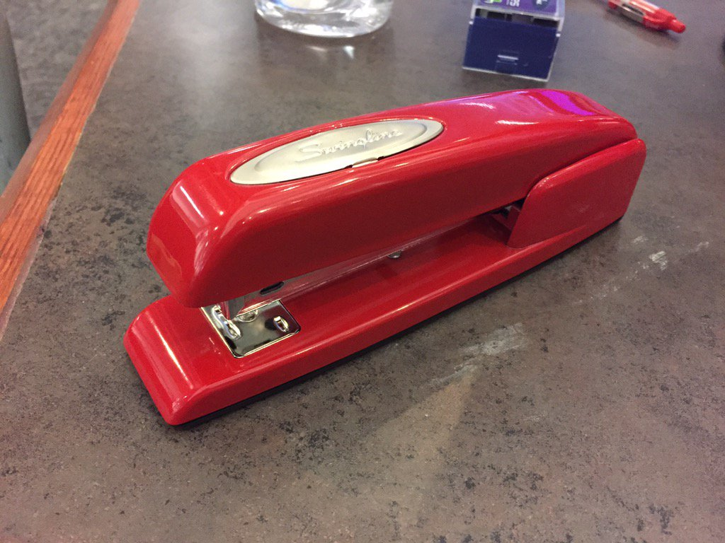 Mike Cronin Jr On Twitter To Whoever Left A Red Swingline