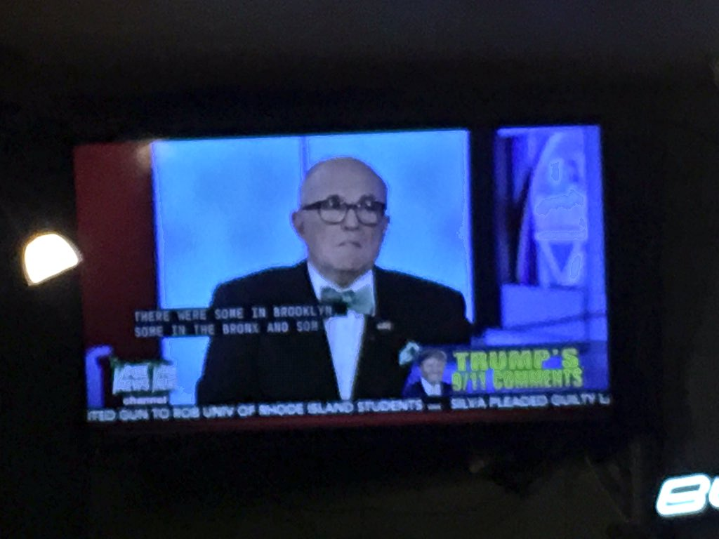When did Giuliani turn into that old guy from the Six Flags Vengabus? https://t.co/VeH1FRFwkB