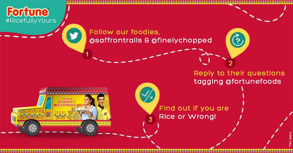 And so the @FortuneFoods #RicefulyYours culinary challenge begins. Answer the questions to win exciting hampers https://t.co/skzQWmA6CQ