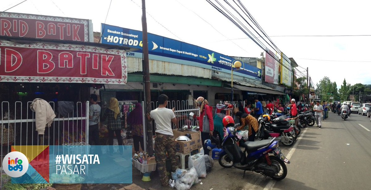 10 Pasar Tradisional di Bandung