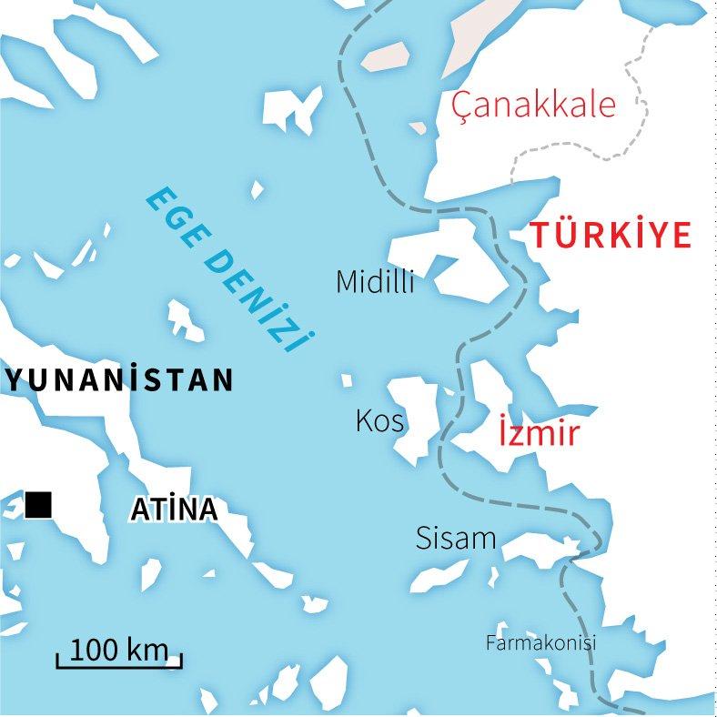 Grecia, affonda un'altra barca che trasportava profughi