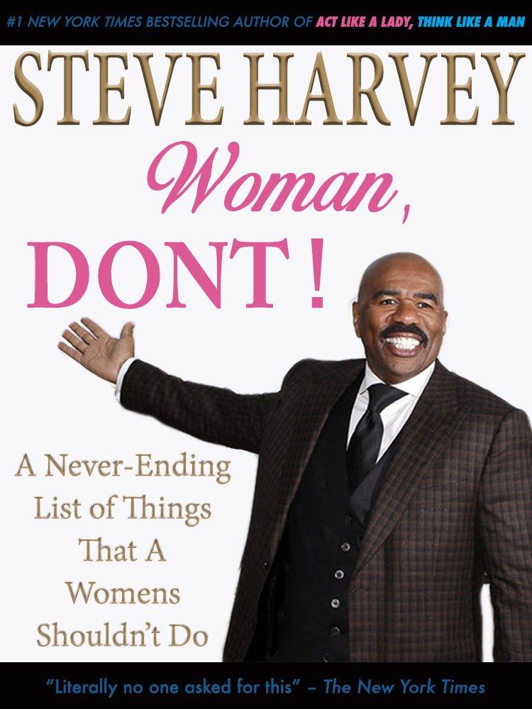 List of books by steve harvey
