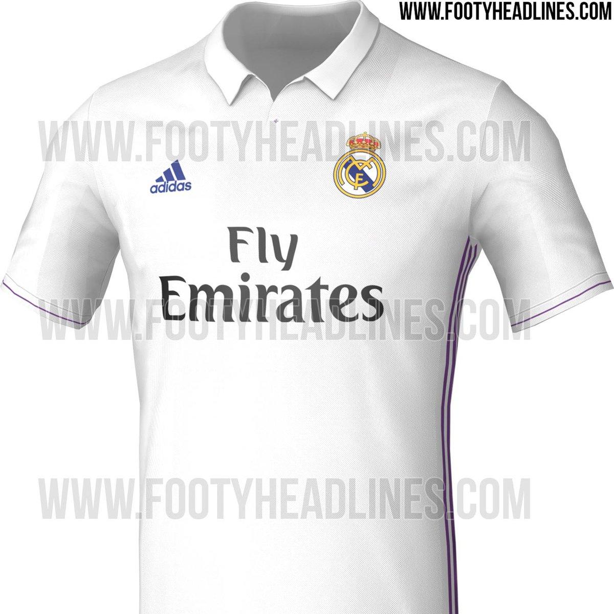 208d1b7afa0 The next  realmadrid home kit   footy headlines leak retro new white   purple  shirt