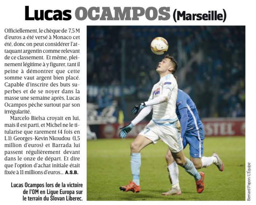 [Lucas Ocampos] de retour à l'OM pour de nouvelles acrobaties ? - Page 3 CW6aONHWAAEpn1V