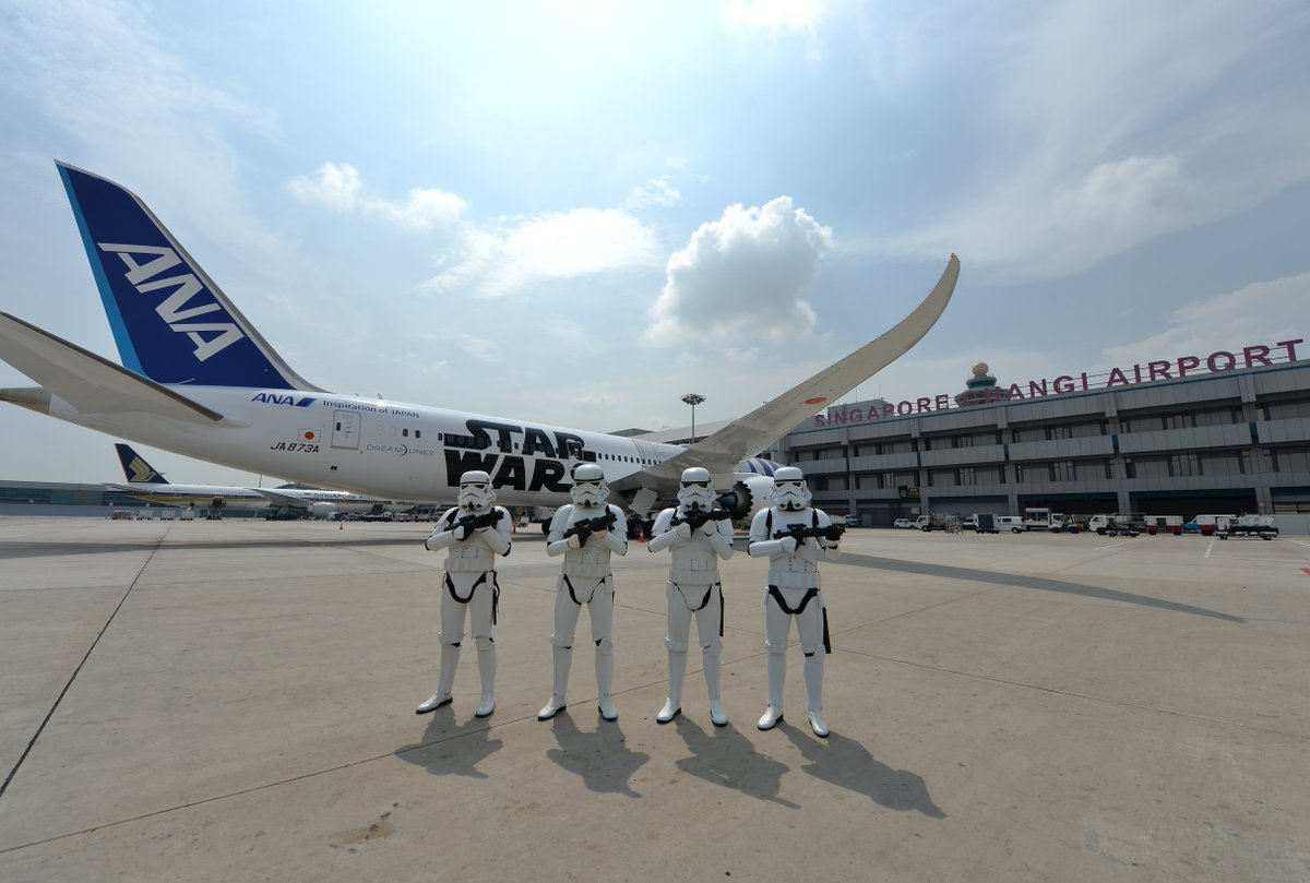 Anyone flying to @ChangiAirport ? Don't miss their fabulous #StarWars exhibition on until January https://t.co/IIiT5amh08