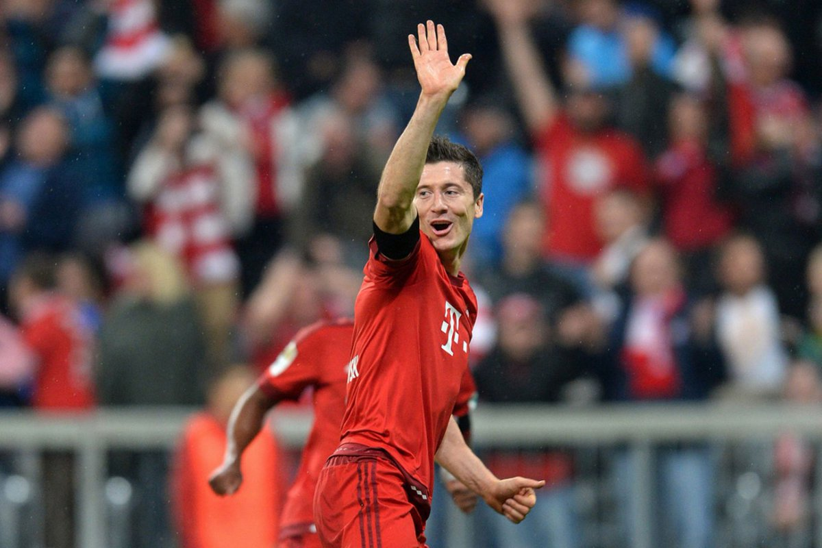 Robert Lewandowski, Cezary Kucharski, Bayern Munchen, Real Madrid