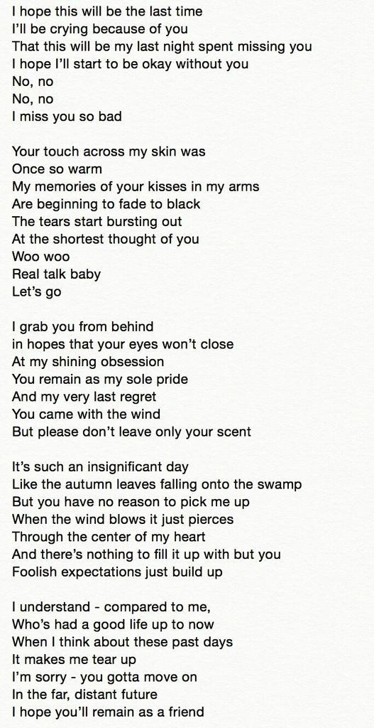 Lyric i ll be missing you lyrics : iKON PHILIPPINES on Twitter: