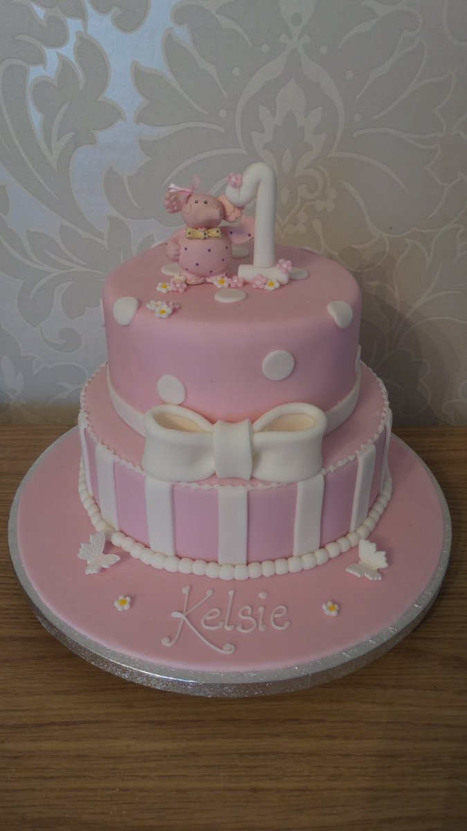 Super Claremacromq On Twitter 2 Tier Girls 1St Birthday Cake X Please Birthday Cards Printable Opercafe Filternl