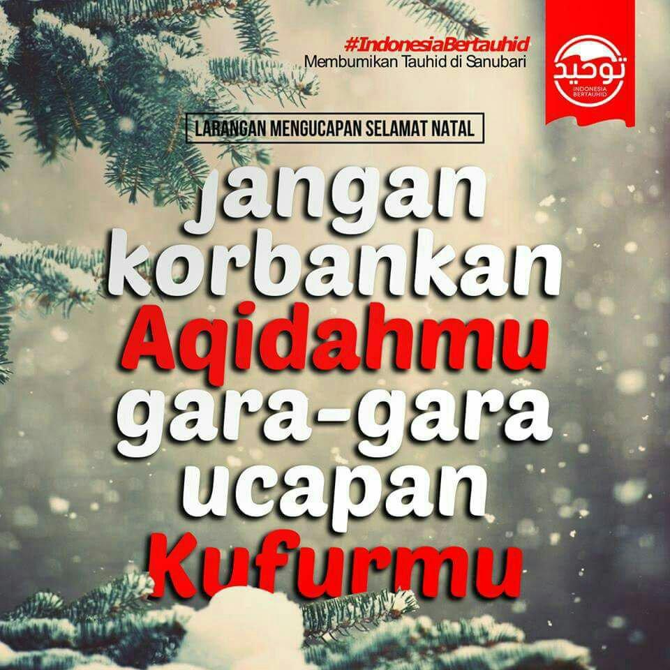 Wallpaper Islami On Twitter Masih Ucapkan Natal Ucapkan