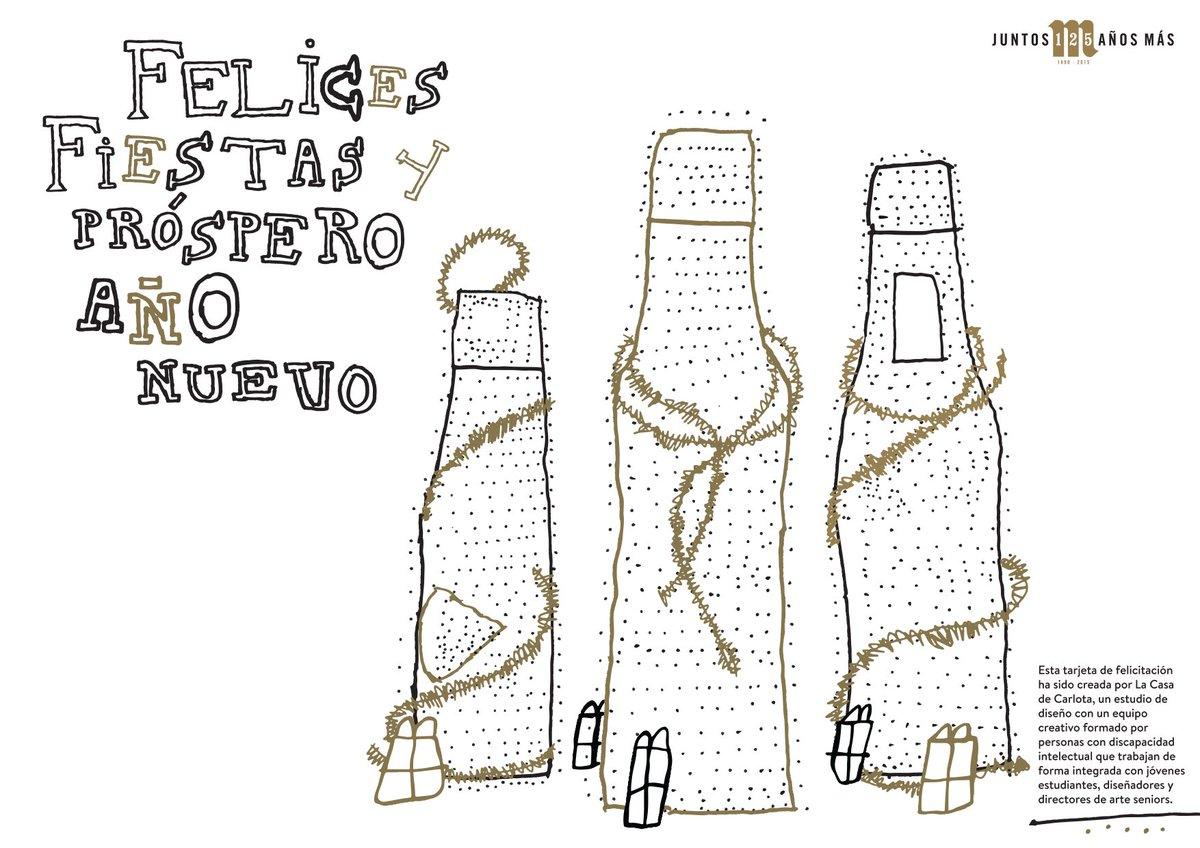 ¡Desde Mahou San Miguel os deseamos unas Felices Fiestas y brindamos con vosotros por un próspero 2016! https://t.co/8hbLVWofVQ