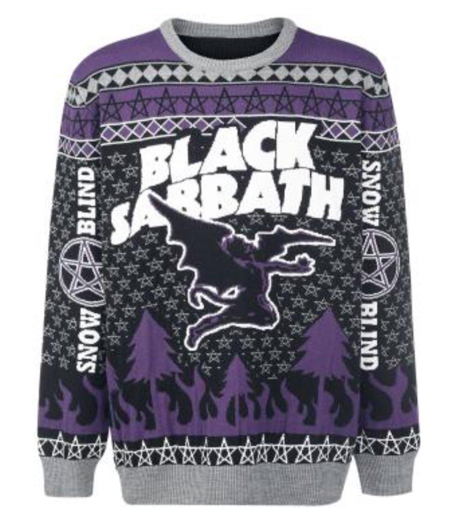 Black Sabbath Christmas Sweater.Fused Magazine On Twitter Nothing Says Christmas Like A