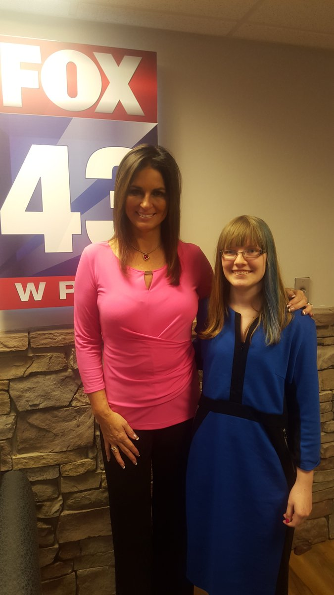 14yo kirsten sneddon is @maryellenfox43 weather kid today! watch