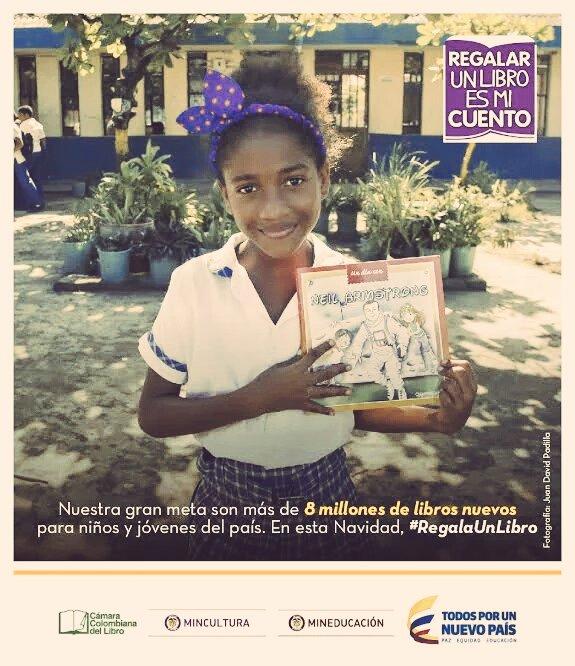 Por cada RT a este mensaje entregaremos 1 libro para los niños del #Chocó.  Únete y esta navidad #RegalaUnLibro https://t.co/fOyhavIpd9