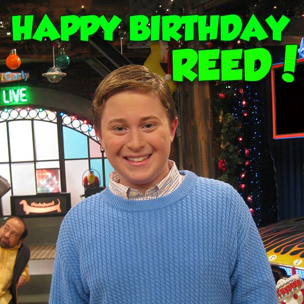 "ICarly On Twitter: ""Happy Birthday Reed! We Hope You Don't"