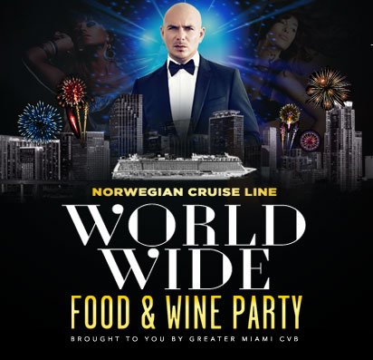 Ready for #TimeOfOurLives? NYE Food & Wine party tix going fast:   #LoveFL #PitbullNYE