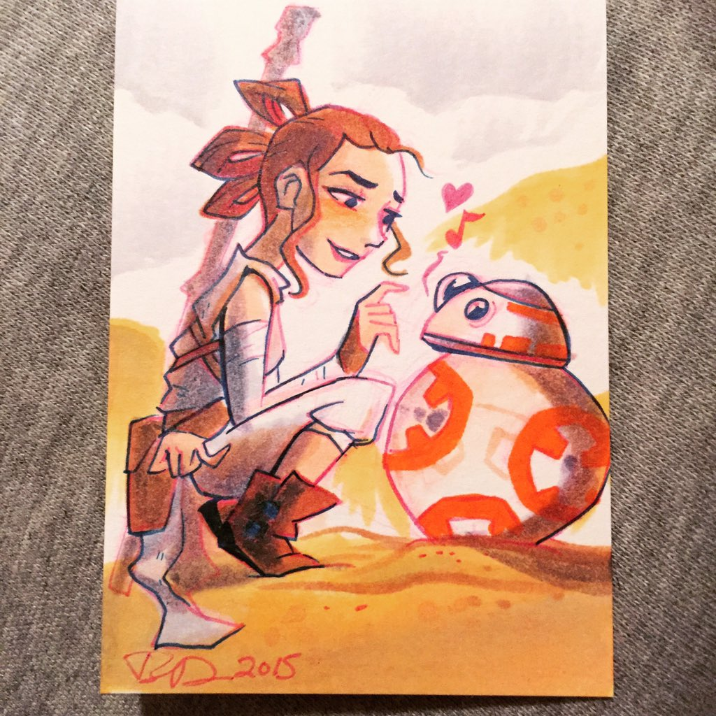 Rey and baby https://t.co/0hTlip3s6S