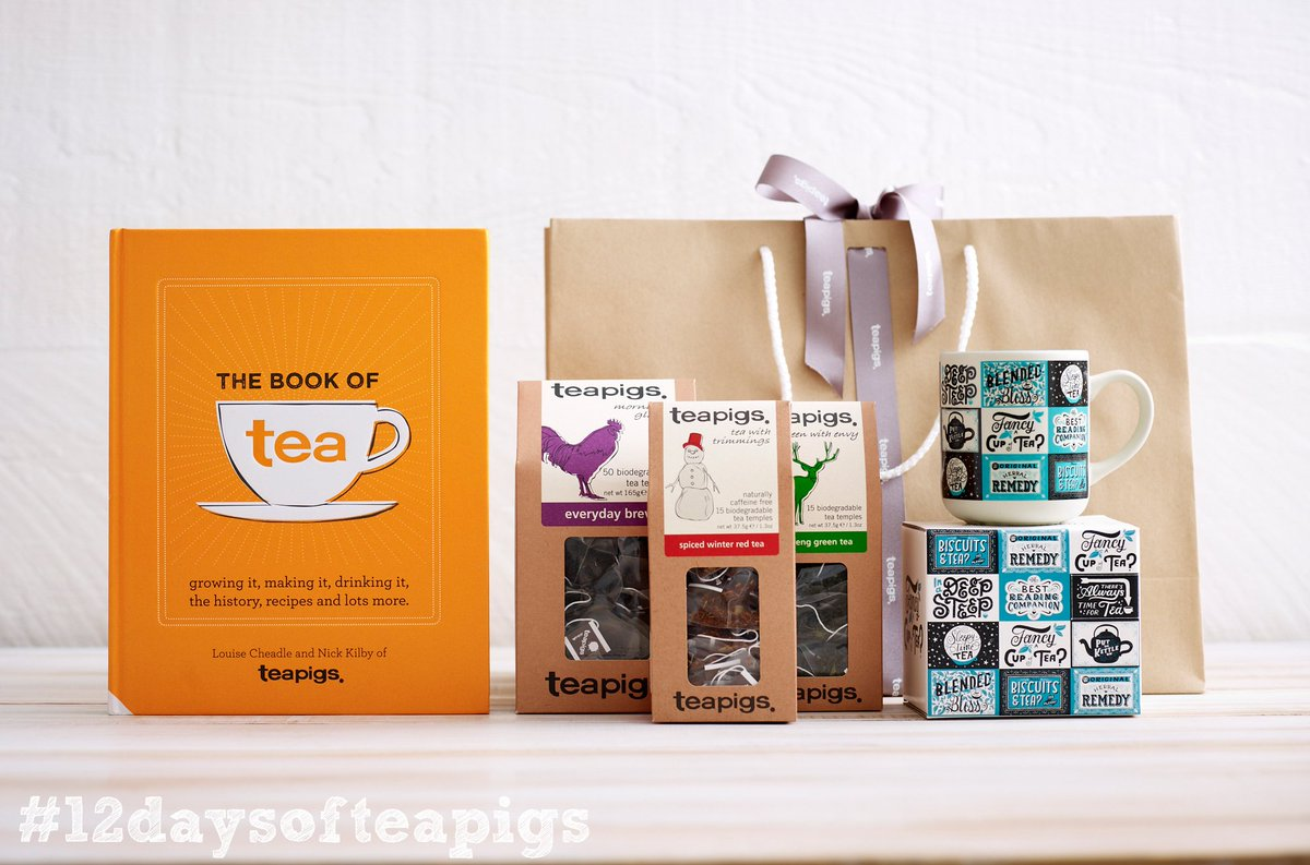 The final day of #12daysofteapigs calls for a big ol' bundle of teapigs goodies! RT by 7pm to win! https://t.co/ICAgyuTwKk