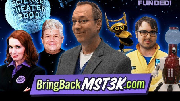 .@MST3k becomes the biggest crowd-funded video project in internet history, @Kickstarter  https://t.co/JD5W4gNnRk https://t.co/mY7jFG9Vnm