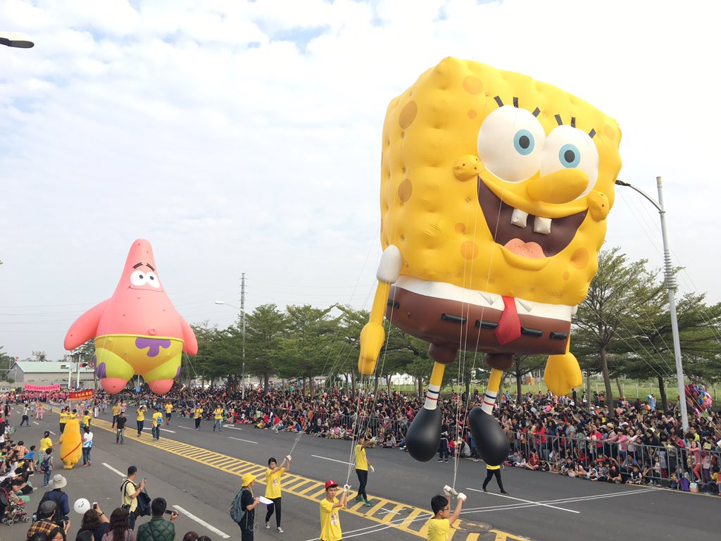 The largest Balloon Parade in Taiwan! https://t.co/o3Twx8Kl0s