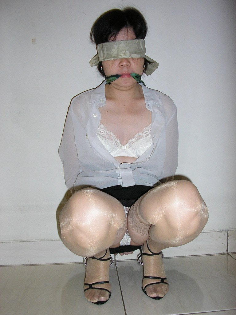 Wife Tied Up And Gagged