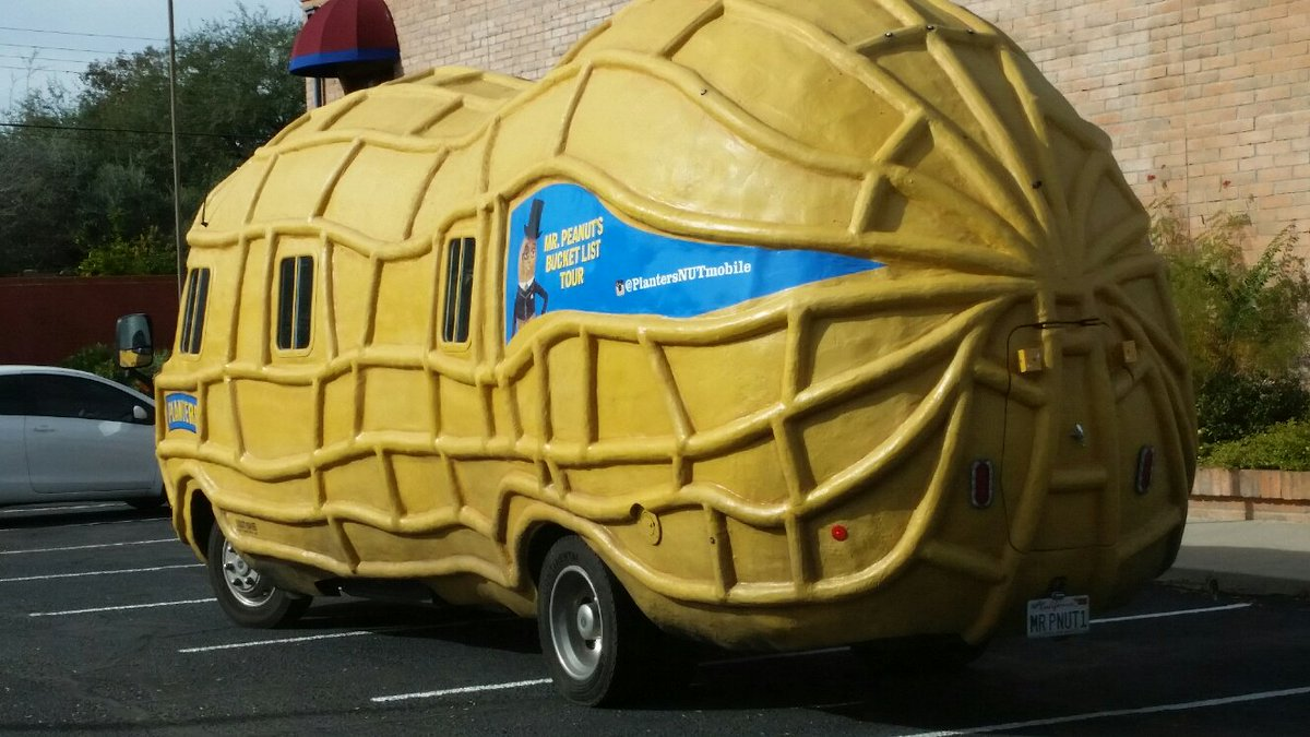 gabrielle rhind on twitter planters peanut mobile in tucson https