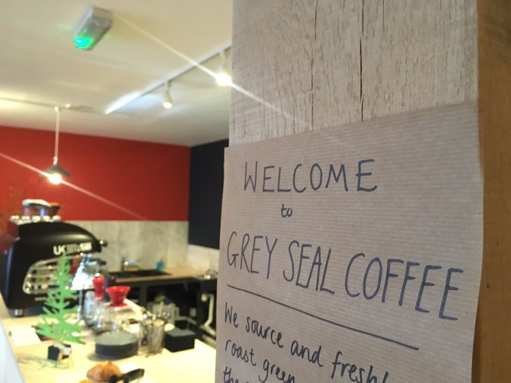 Grey Seal Coffee On Twitter Opening Day At