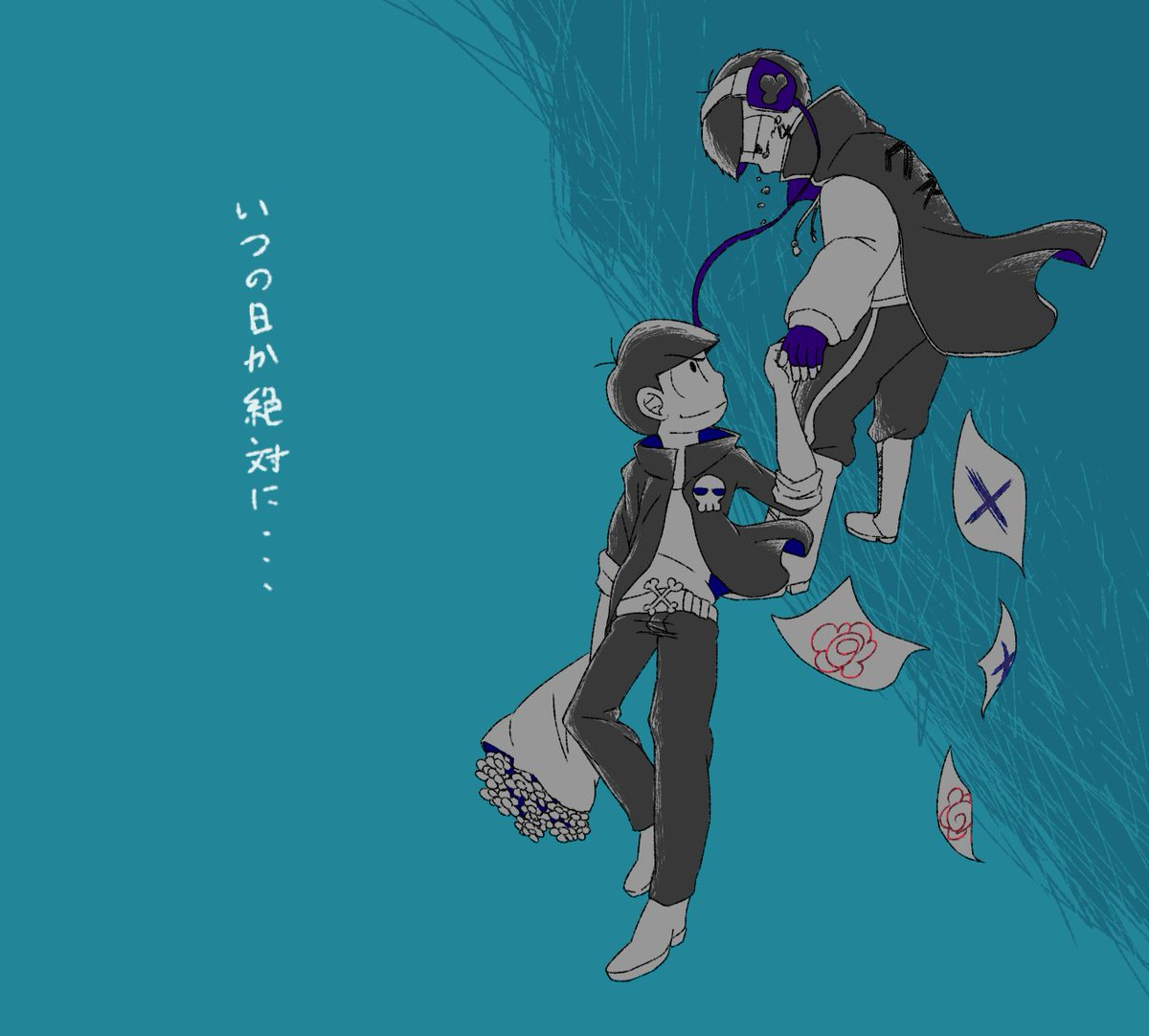 Tweet おそ松さん泣ける六つ子の感動系二次イラストまとめ 最終