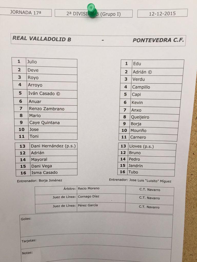 Real Valladolid B - Temporada 2015/16 - 2ª División B Grupo I - Página 18 CWCEVjrXIAAH4U8
