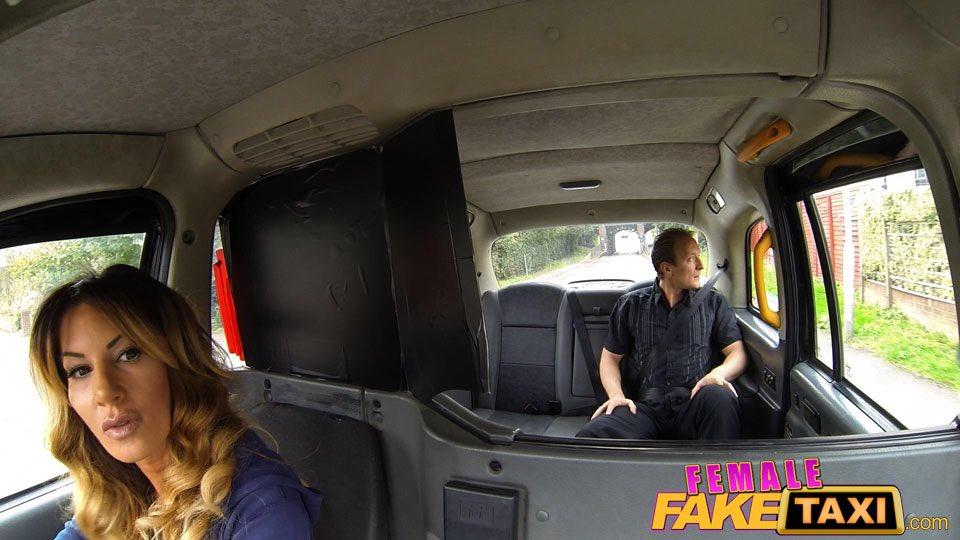 Fake taxi female