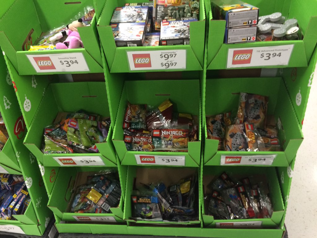 "StudShooter! on Twitter: ""LEGO Store Polybags @Walmart! Great ..."