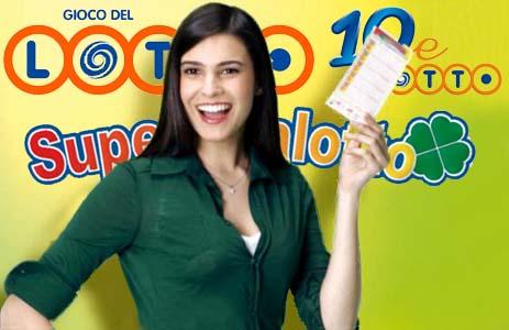 Estrazione Lotto SuperEnalotto oggi sabato sabato 9 Gennaio 2016, numeri vincenti 10 e Lotto quote SuperStar Jackpot