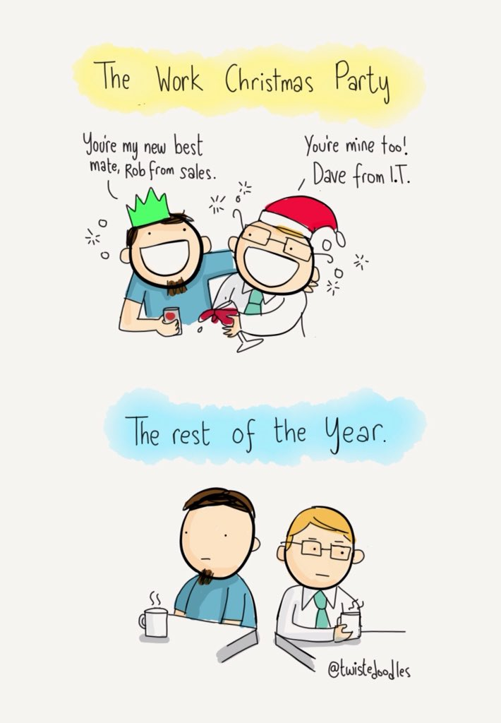Day After Christmas.Twisteddoodles On Twitter The First Work Day After The