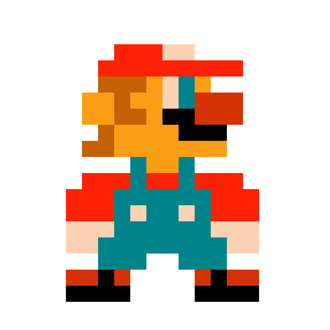 Anjin Anhut Design On Twitter Super Mario Bros Nes Sprite Remix