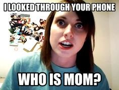 Amateur photos of moms