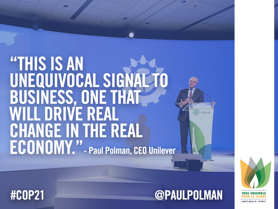 #ParisAgreement sends a clear signal to business, one that will drive real change in economy https://t.co/QCi8Hc881g https://t.co/MJrV06zQKs