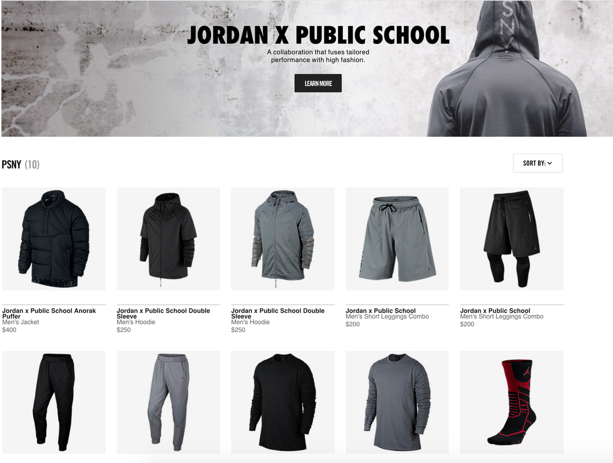 73421b596154a6  LiveNow PSNY x Jordan Apparel Collection http   fave.co 1mh8T7T  pic.twitter.com tAyO6dcJXo