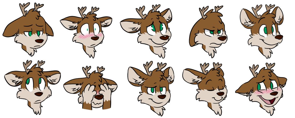 A Deer On Twitter Smol Deers Sticker Pack For Telegram C Https