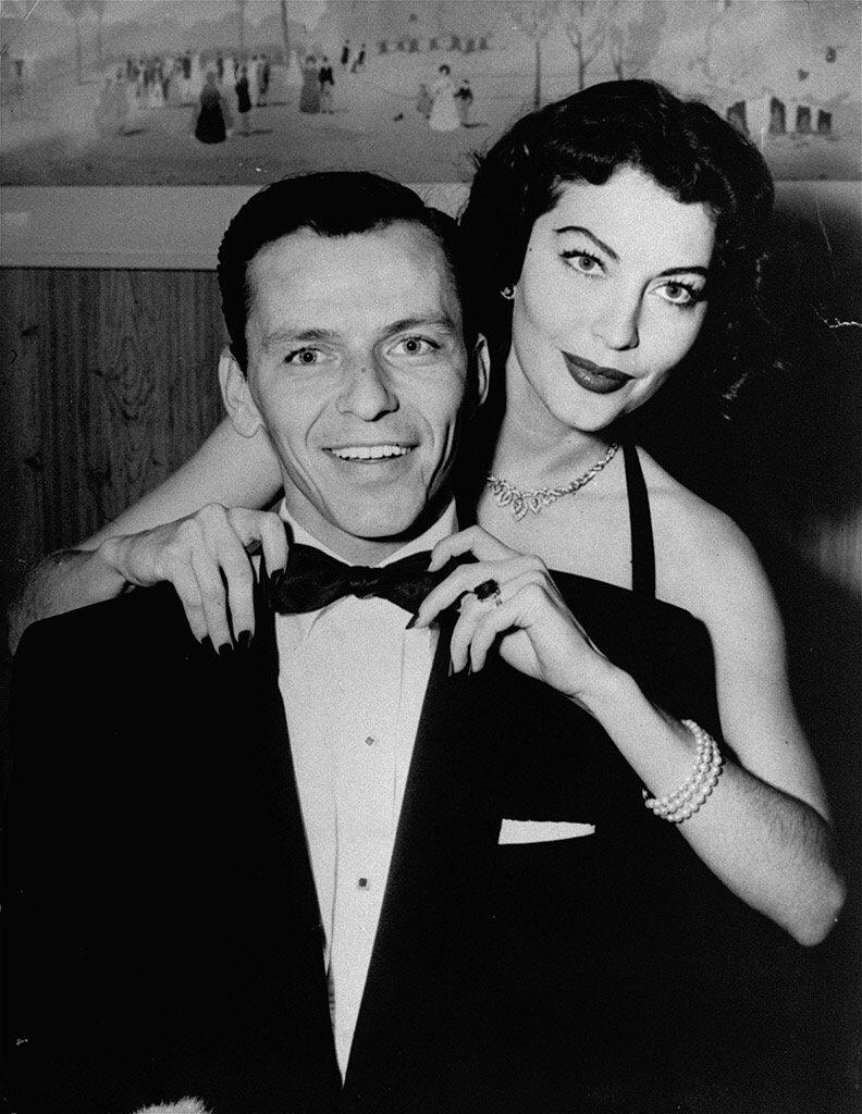 Фрэнк синатра и его жены фото