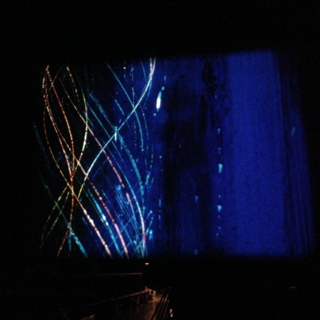 #analog and retroesque demoscene like effects on 16mm film #buenzlireboot hello @nosfe https://t.co/q4NRMUTXL1