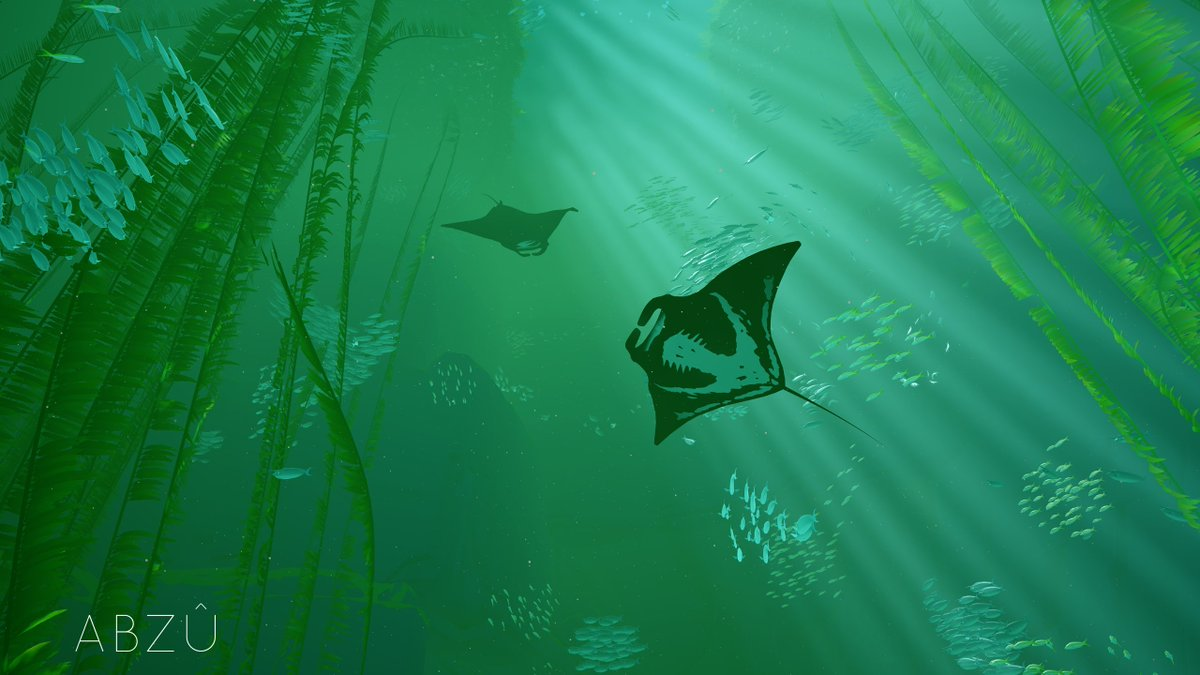 Giant Squid On Twitter Weve Designed A Pair Of Beautiful ABZU Wallpapers For Your Desktops Tablets And Phones Tco FPQIHpO24N