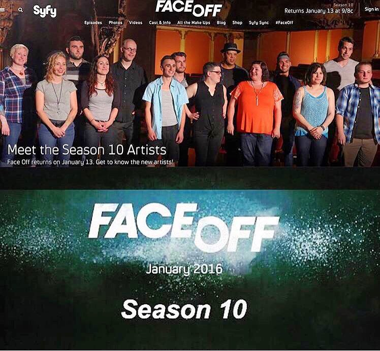 Face Off - 'Critics choice best reality TV series 2015', is