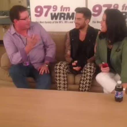 |REPLAY| Adam Lambert backstage interview! #NoSnowBall ❄️ #katch #Periscope https://t.co/Zud9maLUOp https://t.co/s993yoKbvP