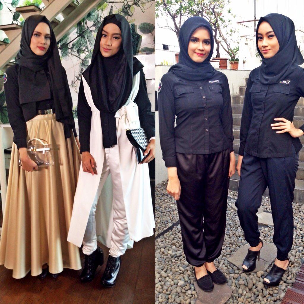 Dua Hijab Trans7 On Twitter Vote Fashion Battle Favorit