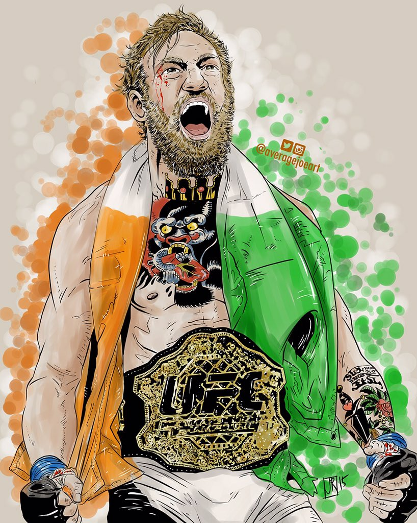 The new King #andnew #ConorMcGregor #UFC194 #ufc https://t.co/R4OHcSGo3l